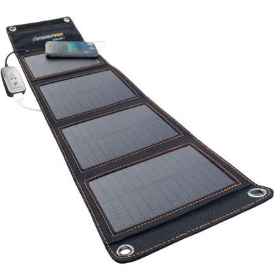7-Watt Folding Solar Charger with SunTrack Technology