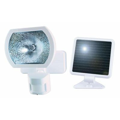 180 Degree Outdoor White Solar Powered Motion Detection Security Light