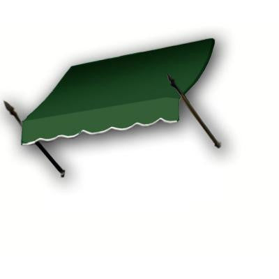 14 ft. New Orleans Awning (44 in. H x 24 in. D) in Forest