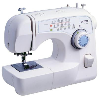 Convertible 35-Stitch Free-Arm Sewing Machine with Quilting Table