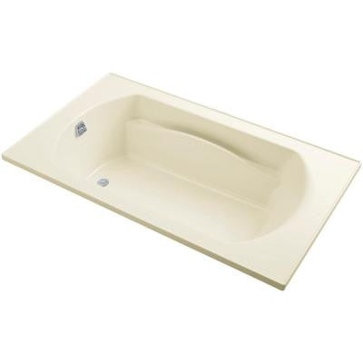 Lawson 6 ft. Reversible Drain Soaking Tub in Biscuit