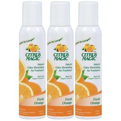 3.5 oz. Tropical Orange All Natural Odor Eliminating Spray Air Freshener (3-Pack)