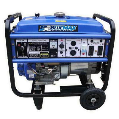 8,000-Watt Gasoline Powered Generator with OHV Engine and Wheel Kit