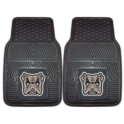 NCAA Adrian College Heavy Duty 2-Piece 18 in. x 27 in. Vinyl Car Mat