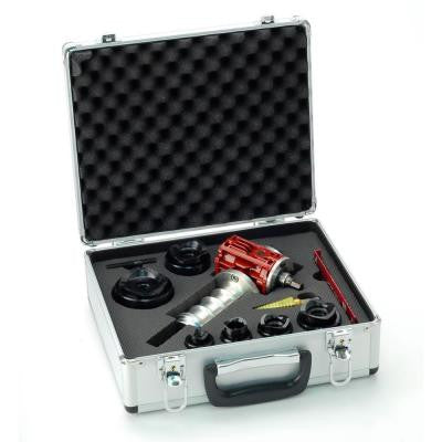 Small Die Set (1/2 in. - 2 in. ) Only (MP-02) Includes Dies Only, Step Bit and Carrying Case