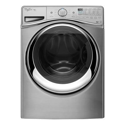 Duet 4.5 cu. ft. High-Efficiency Front Load Washer with Steam in Diamond Steel, ENERGY STAR