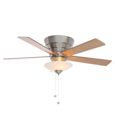 Andross 48 in. Brushed Nickel Ceiling Fan