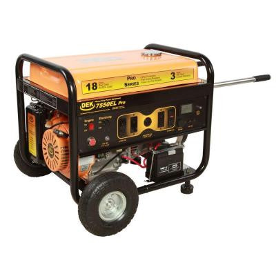 Pro Series 10,000-Watt Commercial Duty Generator with Electric Start