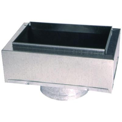 14 in. x 6 in. to 8 in. Insulated Register Box
