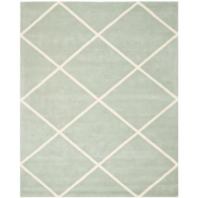 Chatham Grey/Ivory 8 ft. x 10 ft. Area Rug