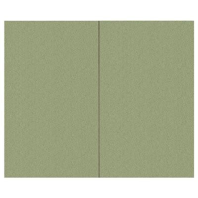 44 sq. ft. Eucalyptus Fabric Covered Top Kit Wall Panel