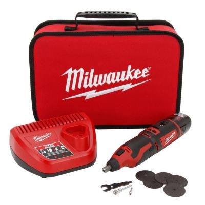 M12 12-Volt Lithium-Ion Cordless Rotary Tool Kit