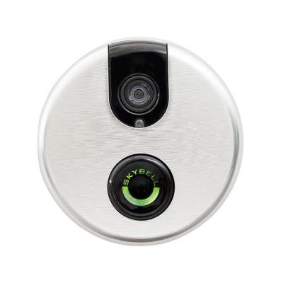 Wi-Fi Video Door Bell Lighted Push Button - Silver