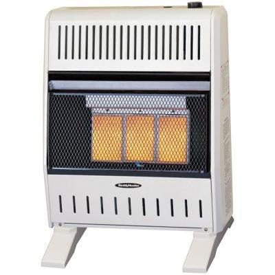 18,000 - 20,000 BTU Infrared Dual-Fuel Wall Heater with Blower