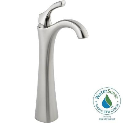 Addison Single Hole Single-Handle Vessel Sink Bathroom Faucet in Stainless