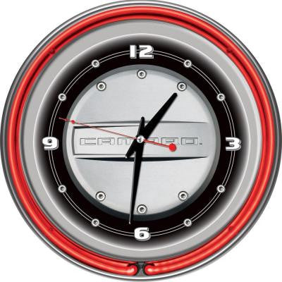 14 in. Camaro Neon Wall Clock