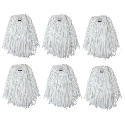 #20, 4-Ply Cotton Mop Head with Cut-Ends (6-Pack)