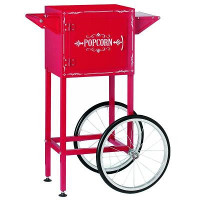 Trolley Cart for Waring Pro Classic Kettle Popcorn Maker in Chili Red