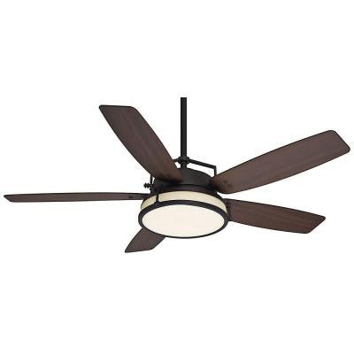 Caneel Bay 56 in. Maiden Bronze Ceiling Fan