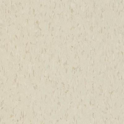 Civic Square VCT Oyster White Commercial Vinyl Tile - 6 in. x 6 in. Take Home Sample