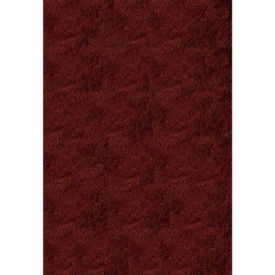Luster Shag Brick 3 ft. x 5 ft. Indoor Area Rug