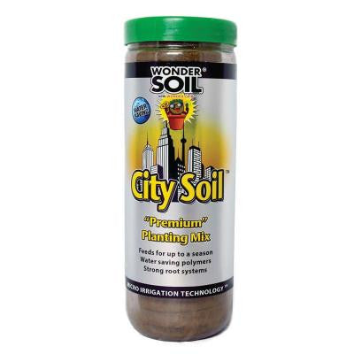 City Soil Expanding Potting Soil Wafers Fill (18) 4 in. Pots