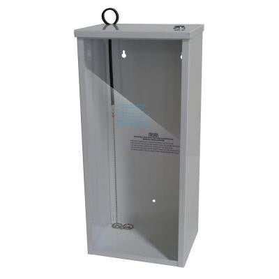 2.0 - 2.6 lb. Steel Surface Mount Fire Extinguisher Cabinet in White