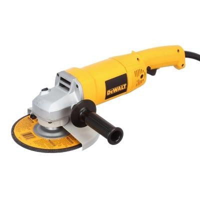 13 Amp 7 in. Heavy Duty Angle Grinder with Bag and Wheels