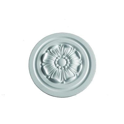 9-15/16 in. x 9-15/16 in. x 13/16 in. Polyurethane Mayflower Ceiling Rosette