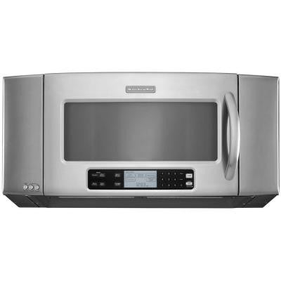 Architect Series II 36 in. W 2.0 cu. ft. Over the Range Microwave in Stainless Steel with Sensor Cooking