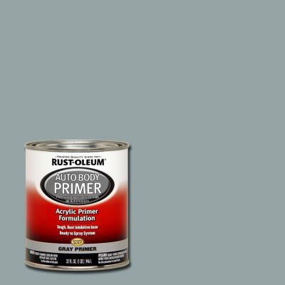 1-qt. Auto Body Gray Primer (Case of 2)