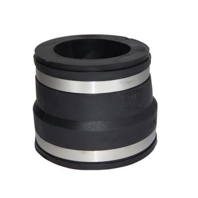 4 in. x 3 in. PVC A.C., Fibre or D.I. to C.I. or Plastic Flexible Coupling