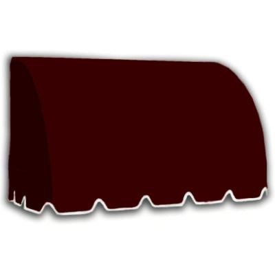 40 ft. Savannah Window/Entry Awning (44 in.H x 36 in.D) in Burgundy