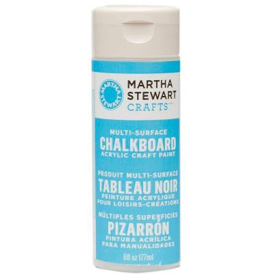 6-oz. Blue Multi-Surface Chalkboard Acrylic Craft Paint