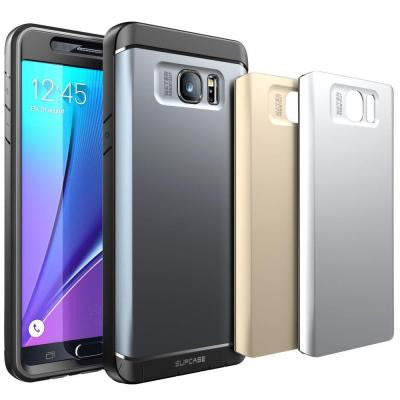 Water Resistant Fullbody Case with Screen Protector and 3 Backplates for Galaxy Note 5