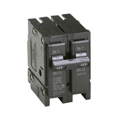 125-Amp 1 in. Double-Pole Type BR Replacement Circuit Breaker