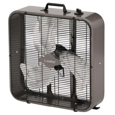20 in. Metal Box Fan