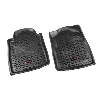 Floor Liner Front Pair Black 2012-2013 Toyota Tacoma Automatic