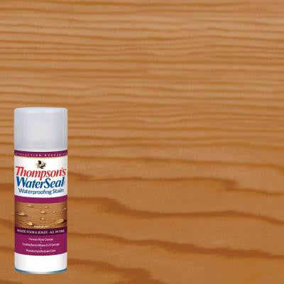 11.75 oz. Maple Brown Waterproofing Stain Aerosol Spray (6-Pack)