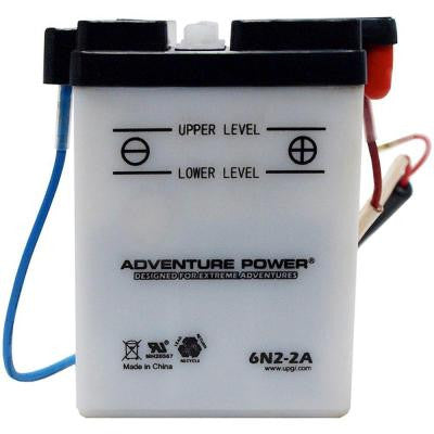 Conventional Wet Pack 6-Volt 2 Ah Capacity Q Terminal Battery