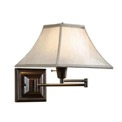 Kingston Bronze Swing-Arm Pin-Up Lamp