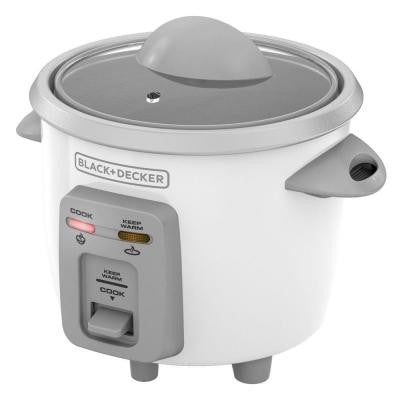 3-Cup Rice Cooker in White