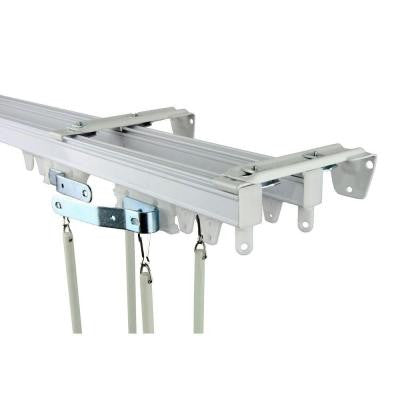 60 in. Commercial Wall/Ceiling Double Track Kit