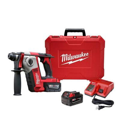 M18 18-Volt Lithium-Ion Cordless 5/8 in. SDS-Plus Rotary Hammer Kit