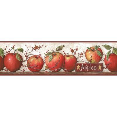 6 in. Apple Border