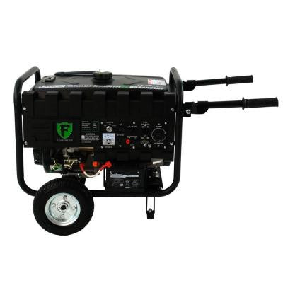 Elite 3,500-Watt Hybrid Dual Fuel Propane/Gas Powered Electric Start Portable RV Generator