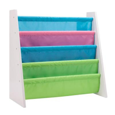 Itsy-Bitsy MDF Freestanding Book Rack in Pastel Colors