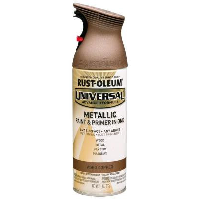 11 oz. All Surface Metallic Aged Copper Spray Paint and Primer in One (6-Pack)