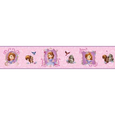 6 in. H Walt Disney Kids II Sofia and Friends Border