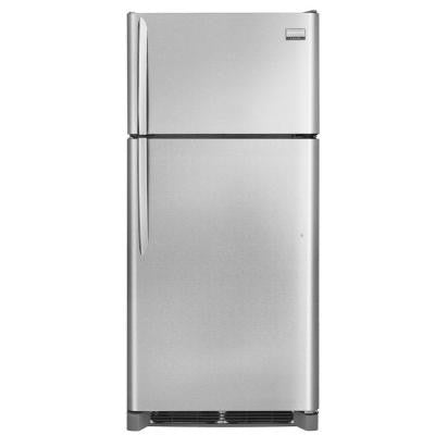Gallery 18.3 cu. ft. Top Freezer Refrigerator in Smudge Proof Stainless Steel, ENERGY STAR